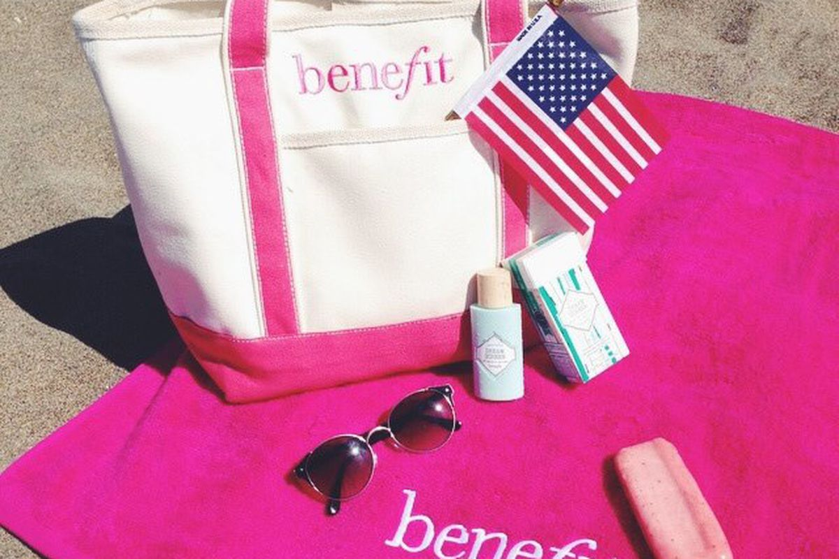 Cause for celebration: Benefit Cosmetics is coming to Dallas. Image via Benefit Cosmetics/Facebook