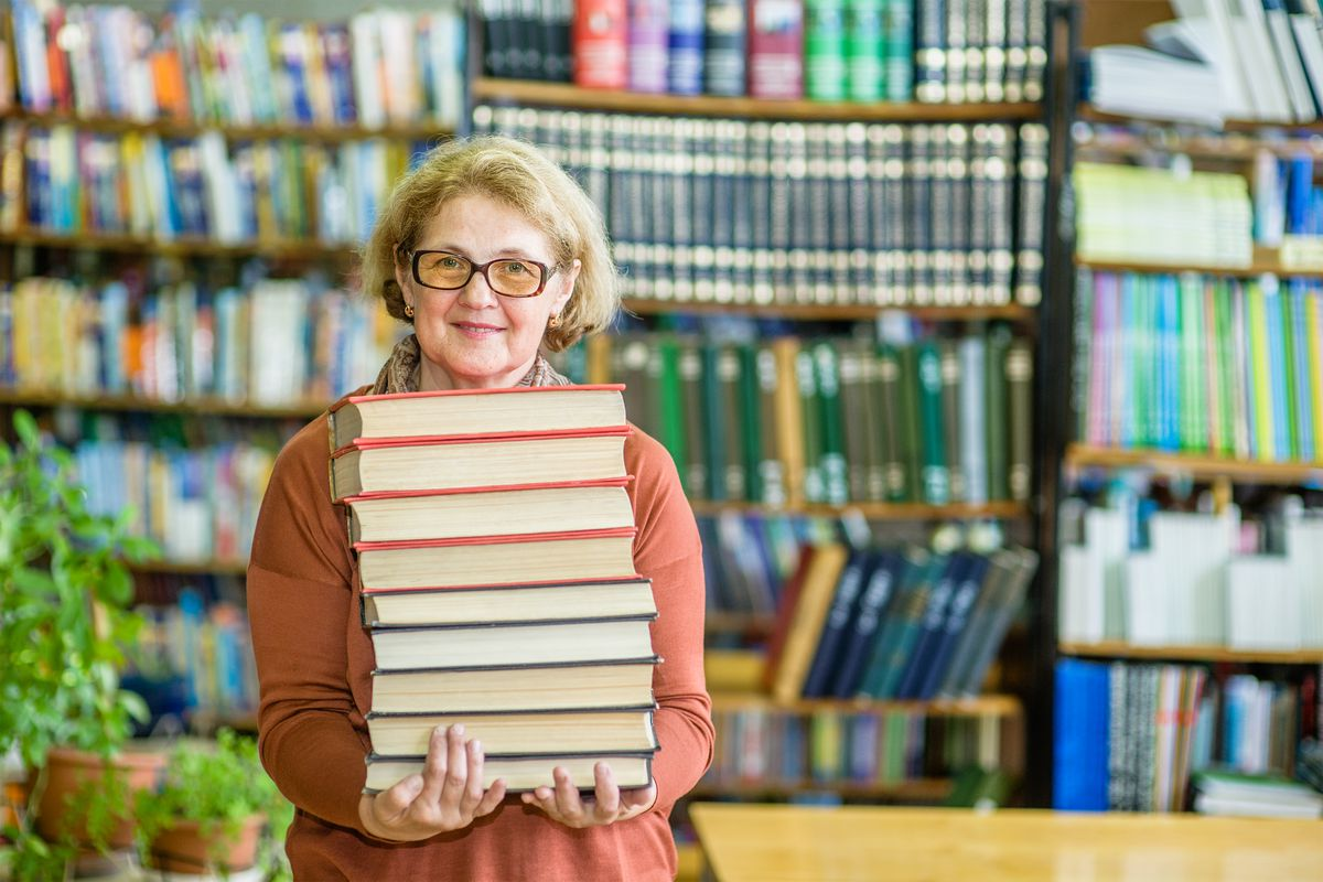 Being a librarian used to be considered a dangerous profession for ...