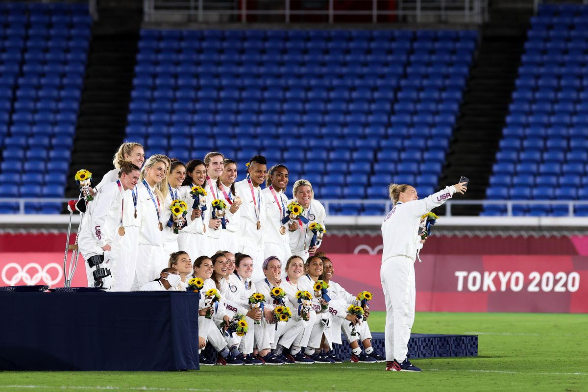 Canada v Sweden: Gold Medal Match Women's Football - Olympics: Day 14