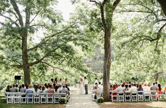 A wedding at Salt Lick
