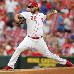 Wade Miley, Reds starting pitcher on Friday
