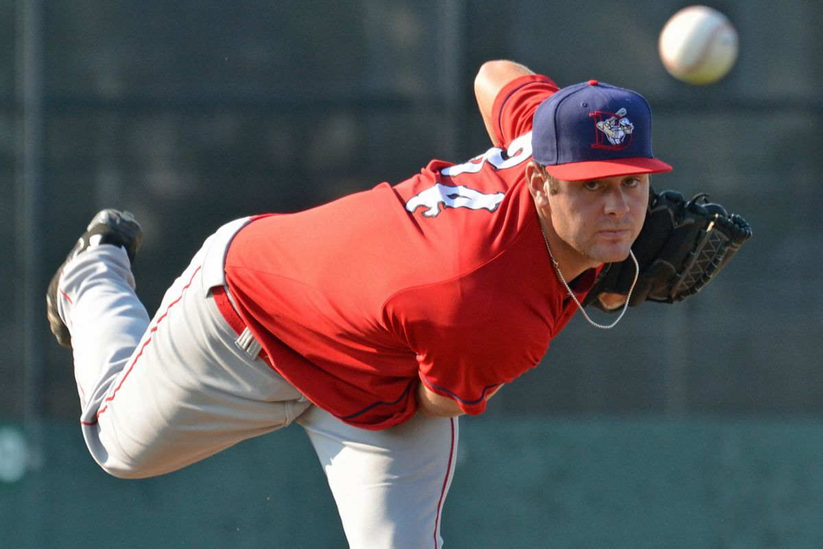Arguably the best pitching prospect in the game, Nationals RHP Lucas Giolito.