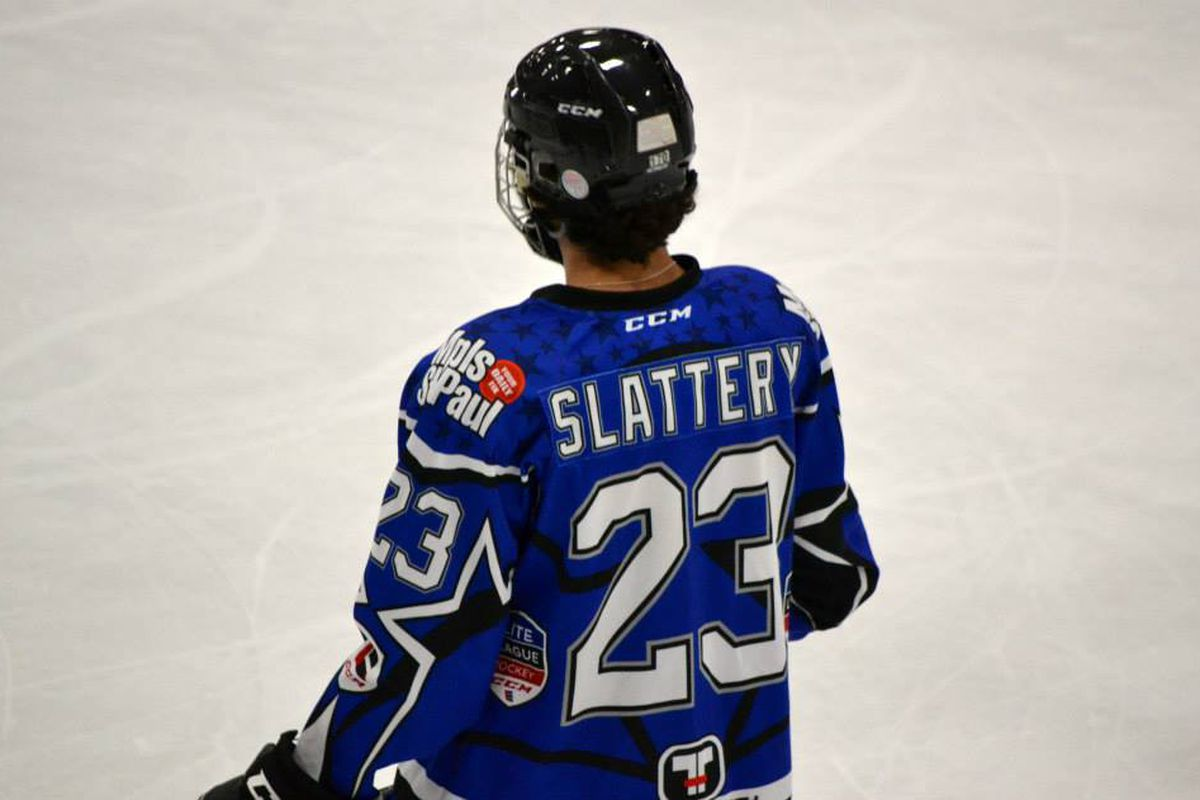 Hill-Murray's Mitch Slattery, in this fall's Upper Midwest Elite League