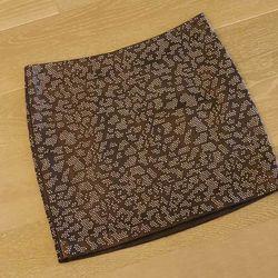 Saint Laurent leather skirt, $3990