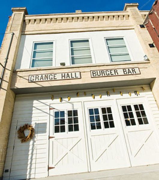 Grange Kitchen And Bar: Take A Look At Grange Hall Burger Bar, Opening Today