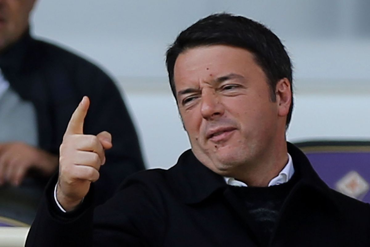 Matteo Renzi is the Prime Minister of Italy, a Fiorentina fan, and an expert facial contortionist.