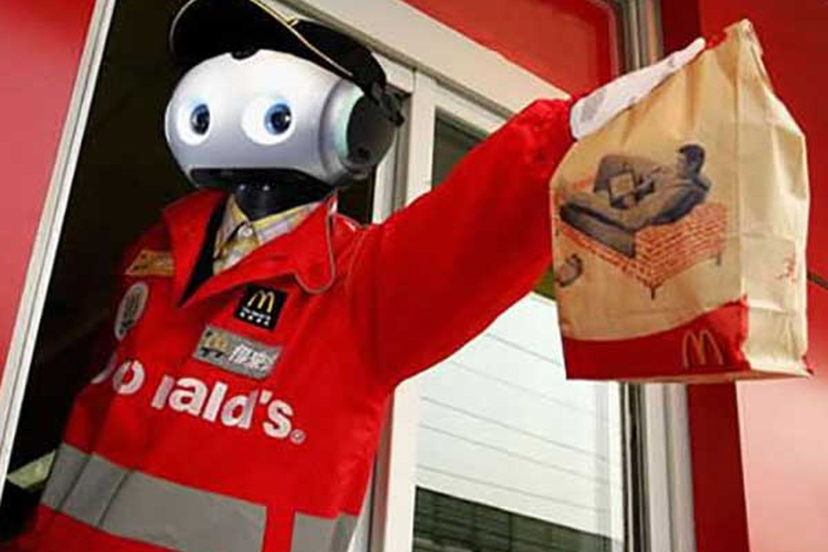 It S Not So Hard To Imagine A Mcdonald S Staffed Mainly By