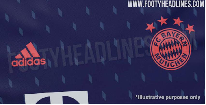cheap for discount dc22d b5b82 KIT LEAK: Bayern Munich's third kit for 2019/2020 - Bavarian ...
