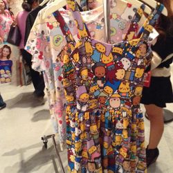 JapanLA's exclusive Hello Kitty x The Simpsons designs.