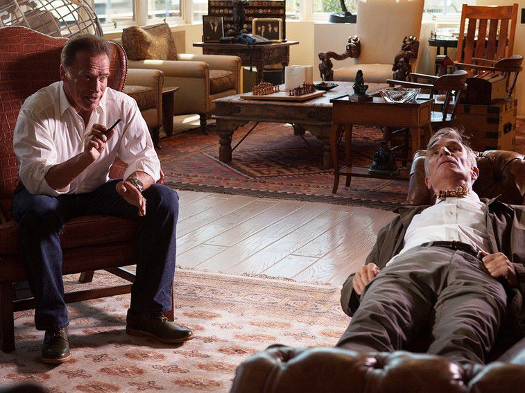 Arnold Schwarzenegger and Bill Nye The Science Guy in National Geographic's The Five Stages of Climate Change Grief