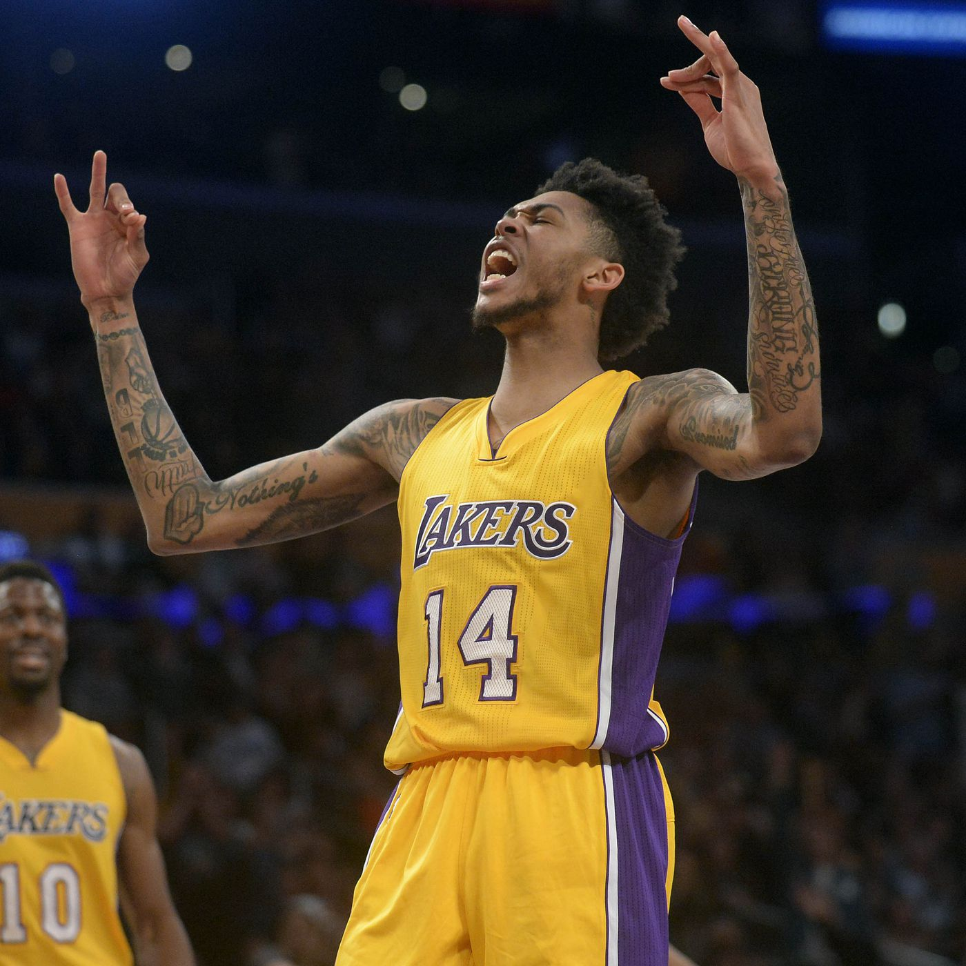 Lakers News Nba Names Brandon Ingram To All Rookie Second Team Silver Screen And Roll