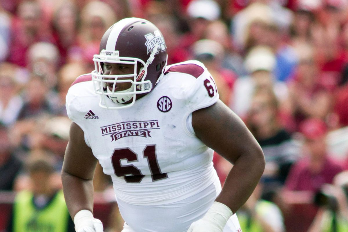 Gabe Jackson is Baltimore Beatdown's third round pick in its first mock draft of the offseason.