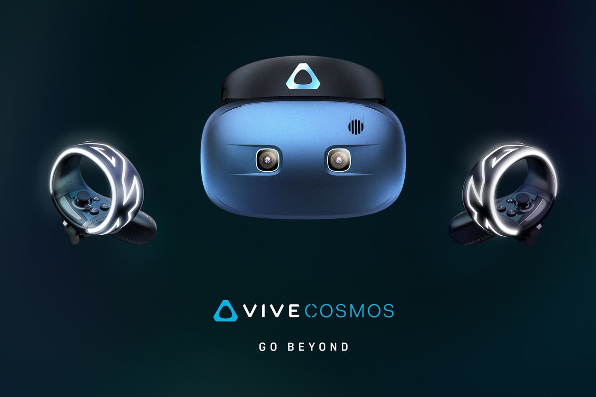 HTC announces PC-powered Vive Cosmos VR headset - The Verge