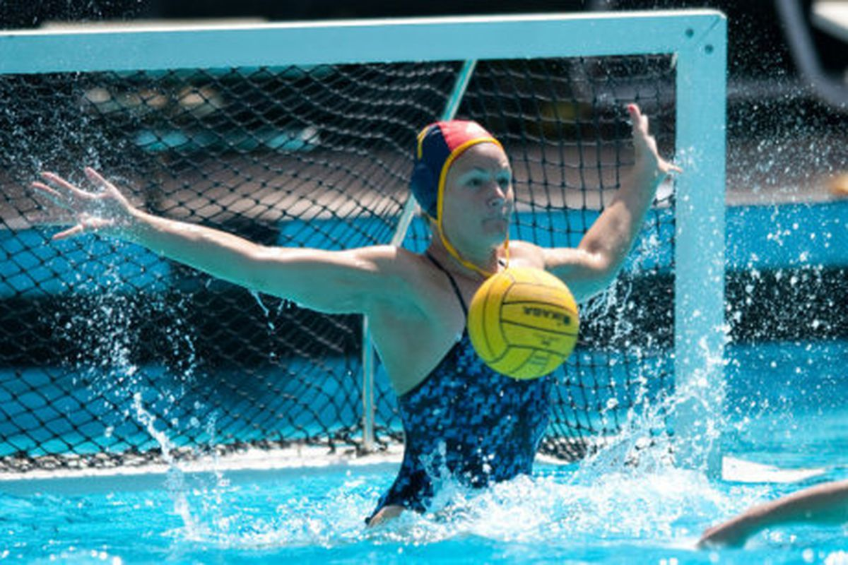 """<em>Brittany Fullen Helps UCLA Water Polo to Bring Home 5t Straight NCAA Title (and Bru-104). Photo source: <a href=""""http://www.uclabruins.com/"""" target=""""new"""">official site</a></em>"""