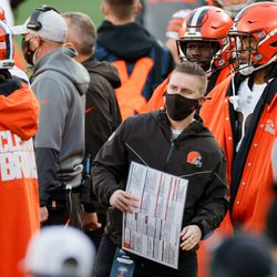 November 2020: Browns Chief of Staff Callie Brownsonbecame the first interim female positional coach in NFLhistory when she took over as the team's tight ends coach against the Jaguars.