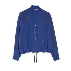 "<a href=""http://www.theoutnet.com/product/384076"">Mesh-paneled cotton sweatshirt</a>, $124.99 (was $275)"
