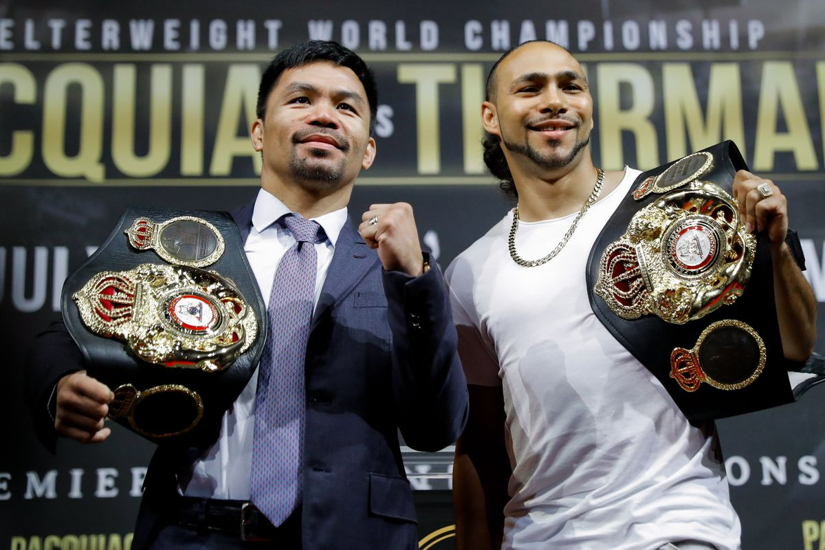 Manny Pacquiao v Keith Thurman - Press Conference
