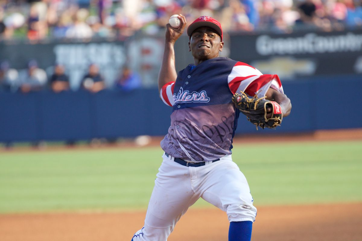 Jharel Cotton has 105 strikeouts in 88 innings this season.