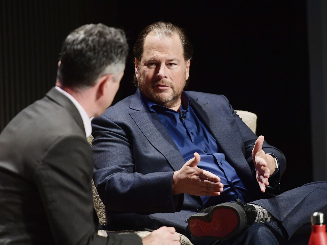 Salesforce chairman and co-CEO Marc Benioff