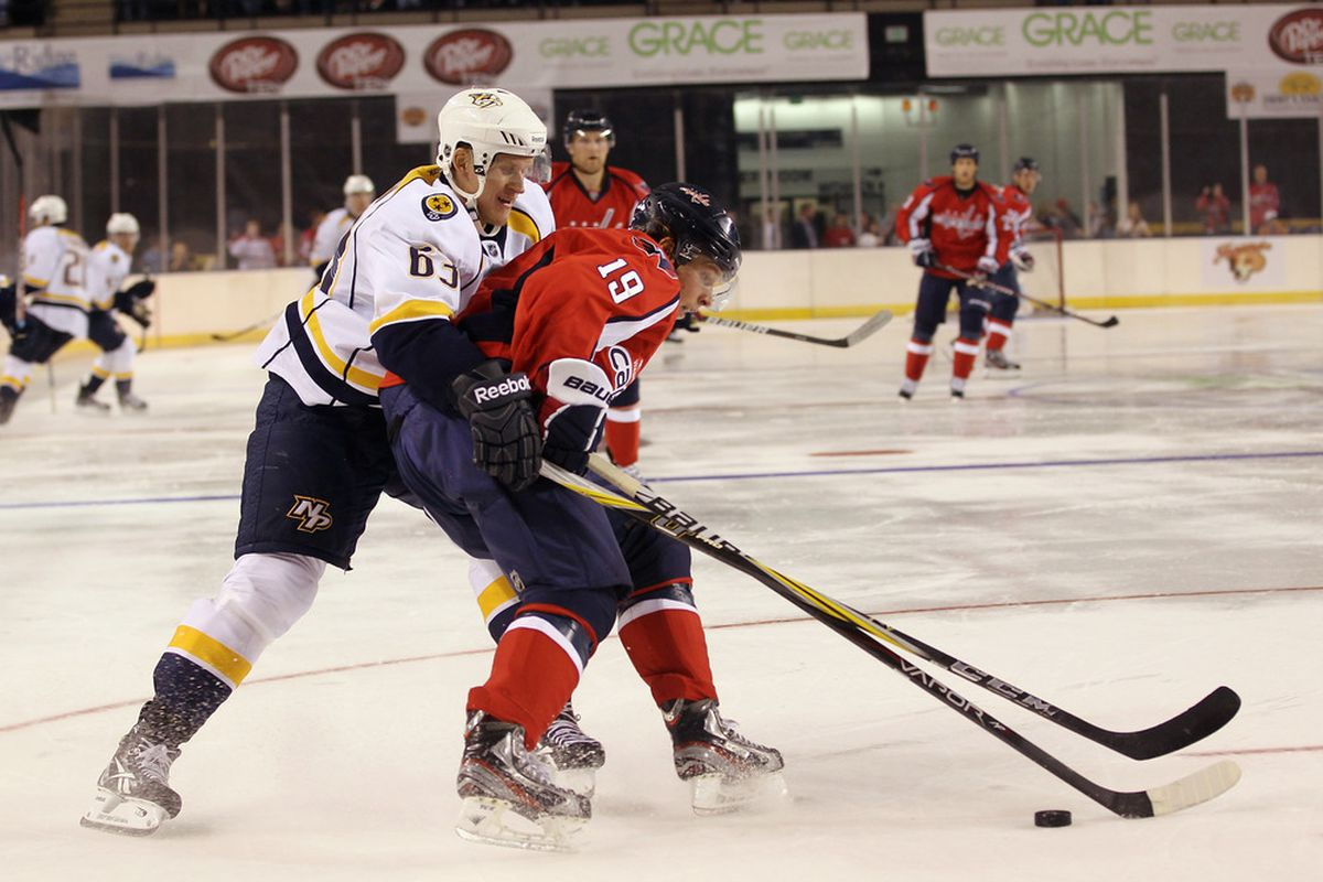Lajunen saw some pre-season action with the Predators, but has yet to play an NHL regular season game.