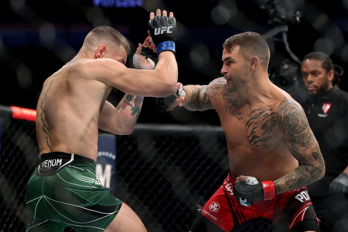 Broken leg! Conor McGregor vs Dustin Poirier 3 full fight highlights | UFC 264 - MMAmania.com