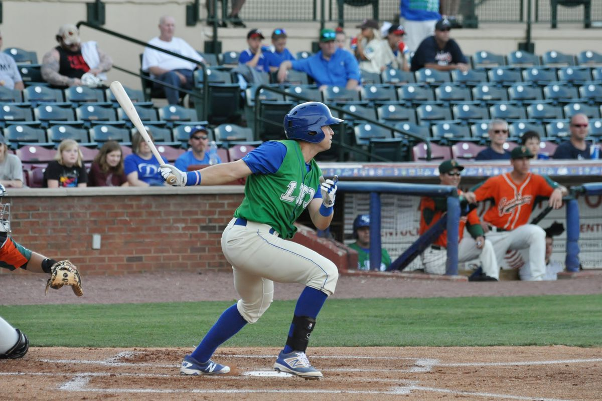 Outfielder Roman Collins doubled his season total of dingers in one week.