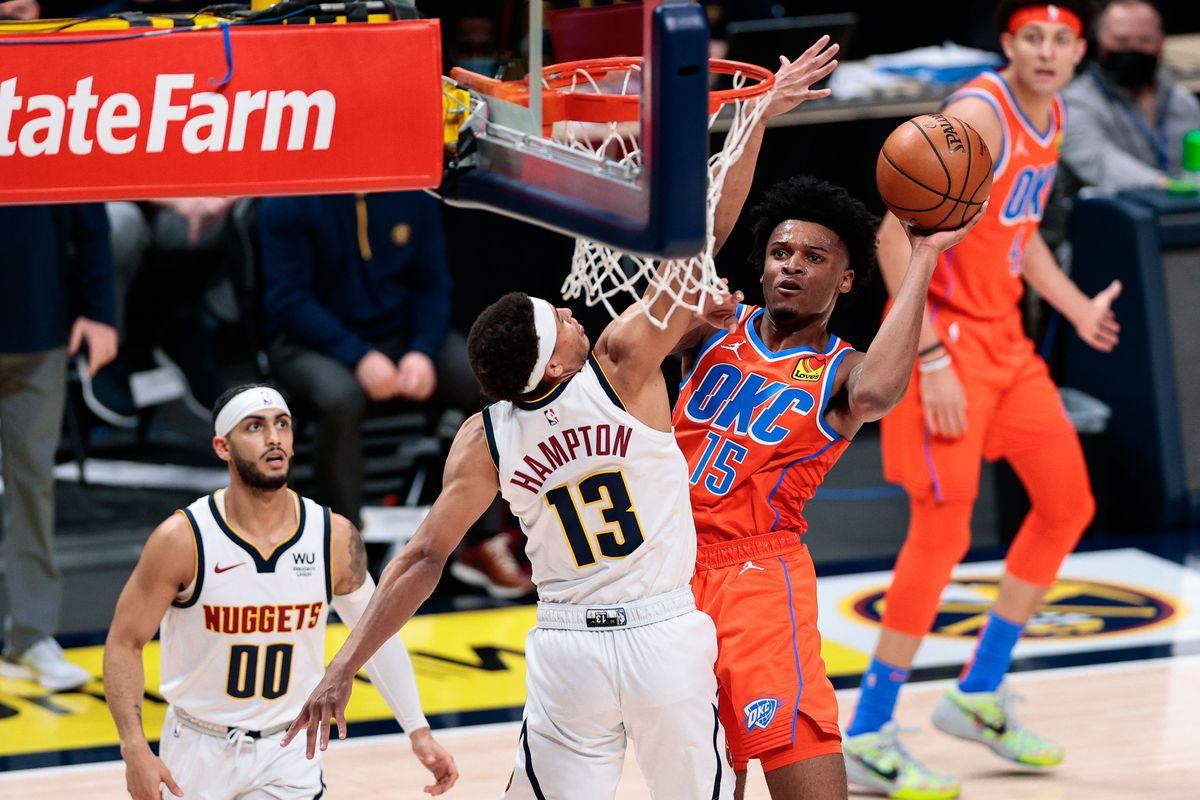 NBA: Oklahoma City Thunder at Denver Nuggets