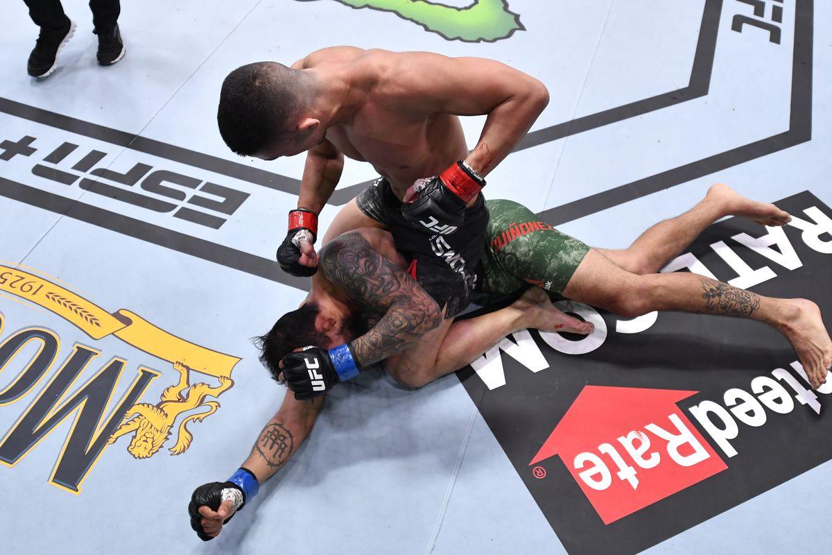UFC Fight Night: Smolka v Quinonez