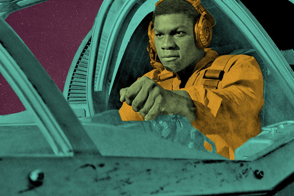 John Boyega in 'The Last Jedi'