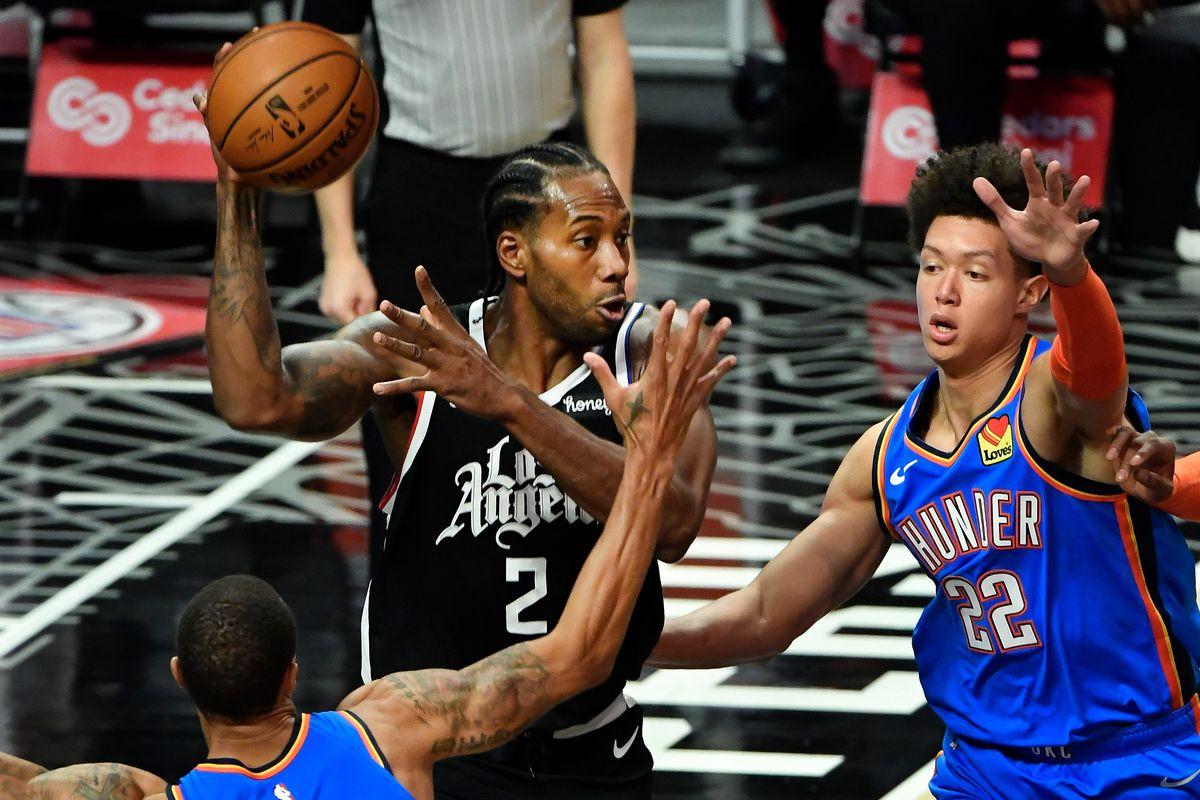 NBA: Oklahoma City Thunder at Los Angeles Clippers