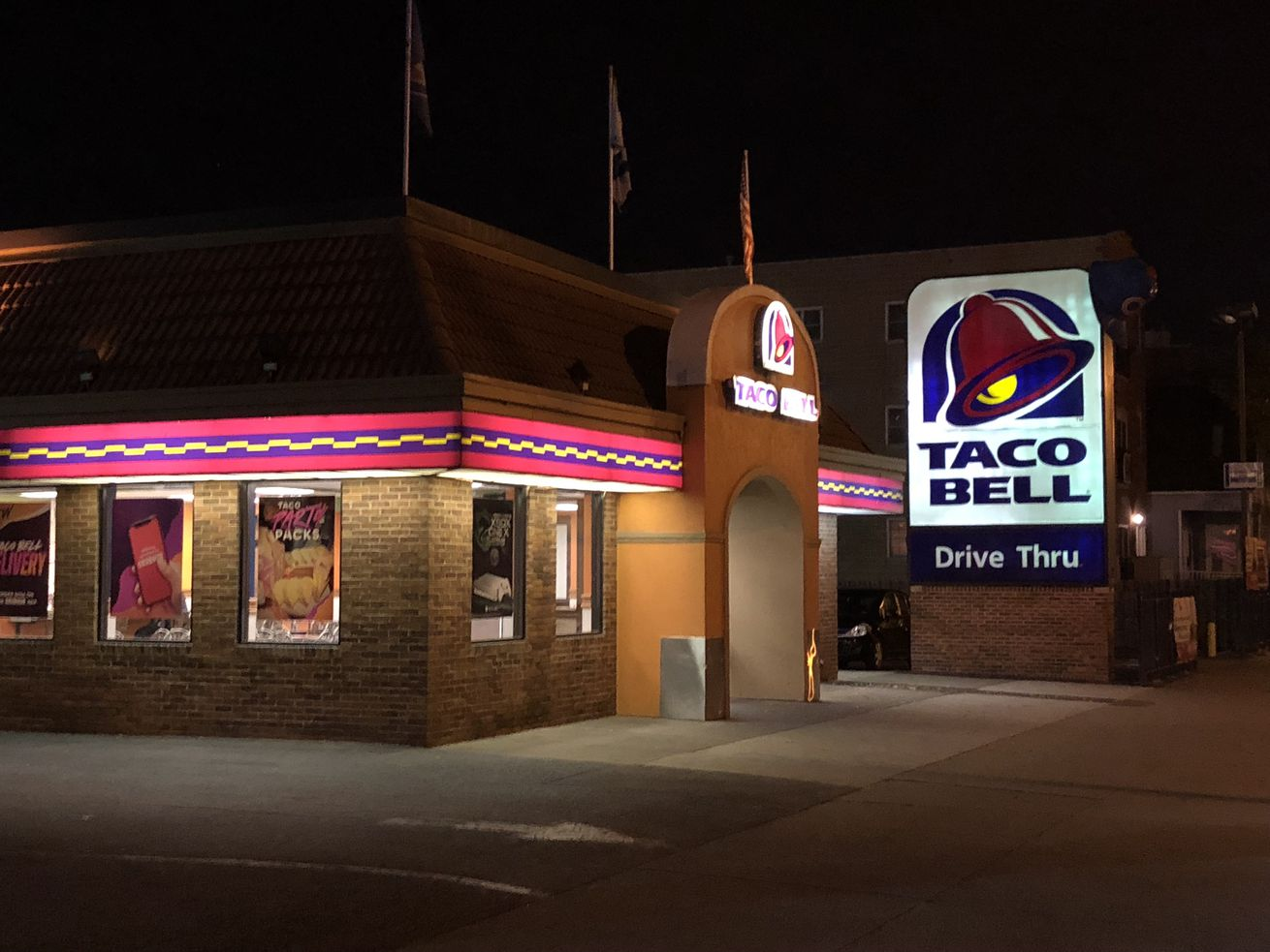 Taco Bell Wrigleville isn't done yet.
