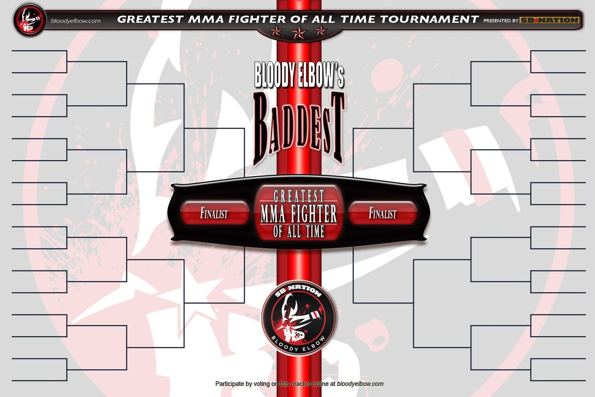 BE's Baddest Tournament: Who is the Greatest MMA Fighter ...
