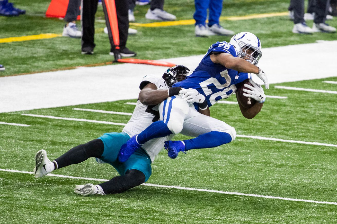 NFL: Jacksonville Jaguars at Indianapolis Colts