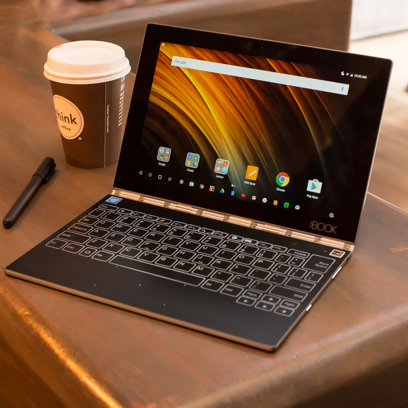 Lenovo Yoga Book review: the unbearable lightness of
