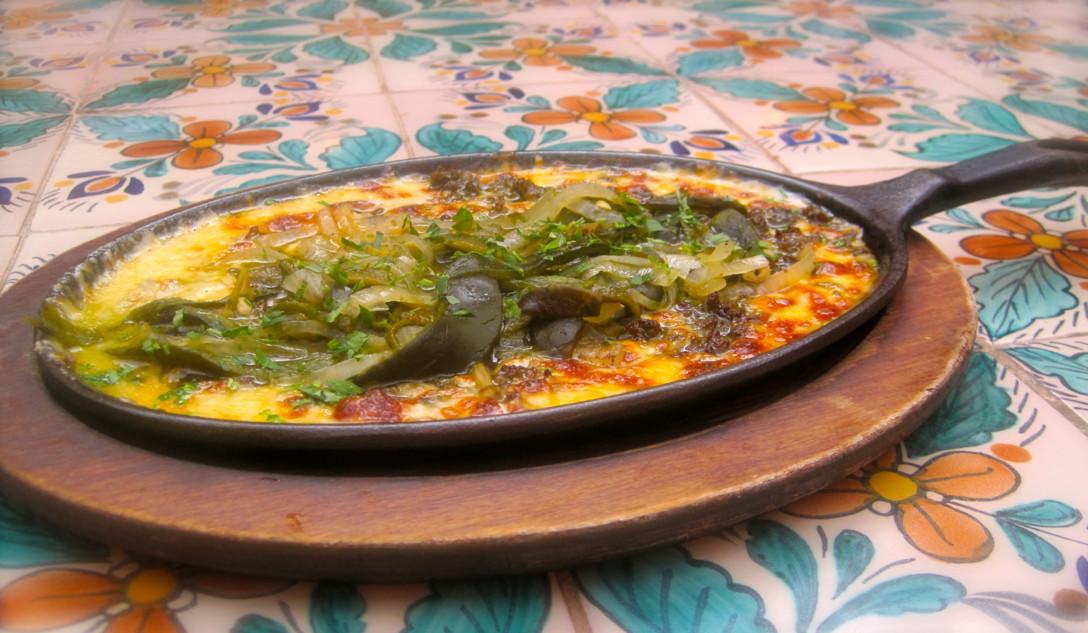 Fonda San Miguel's queso