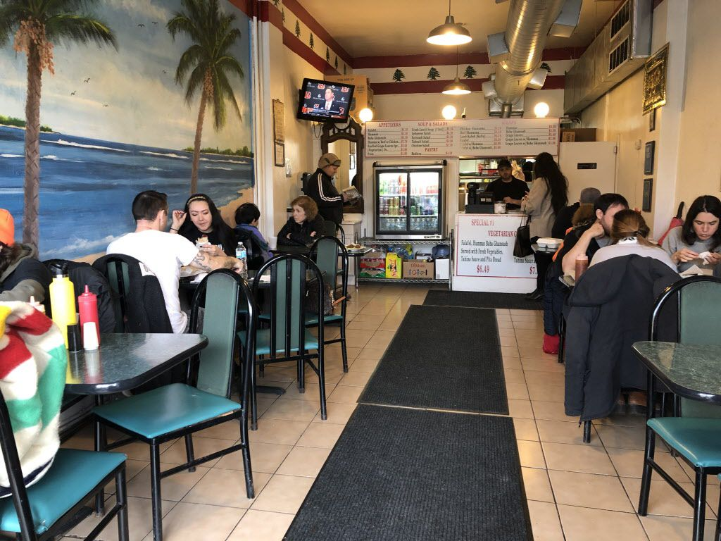 Inside cozy Taste of Lebanon, where diners indulge in authentic Middle Eastern fare – cheap but delicious cuisine at its finest! | Ji Suk Yi/Sun-Times
