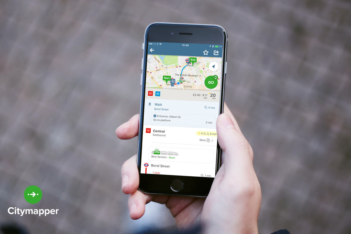 citymappers transport app photo by citymapper