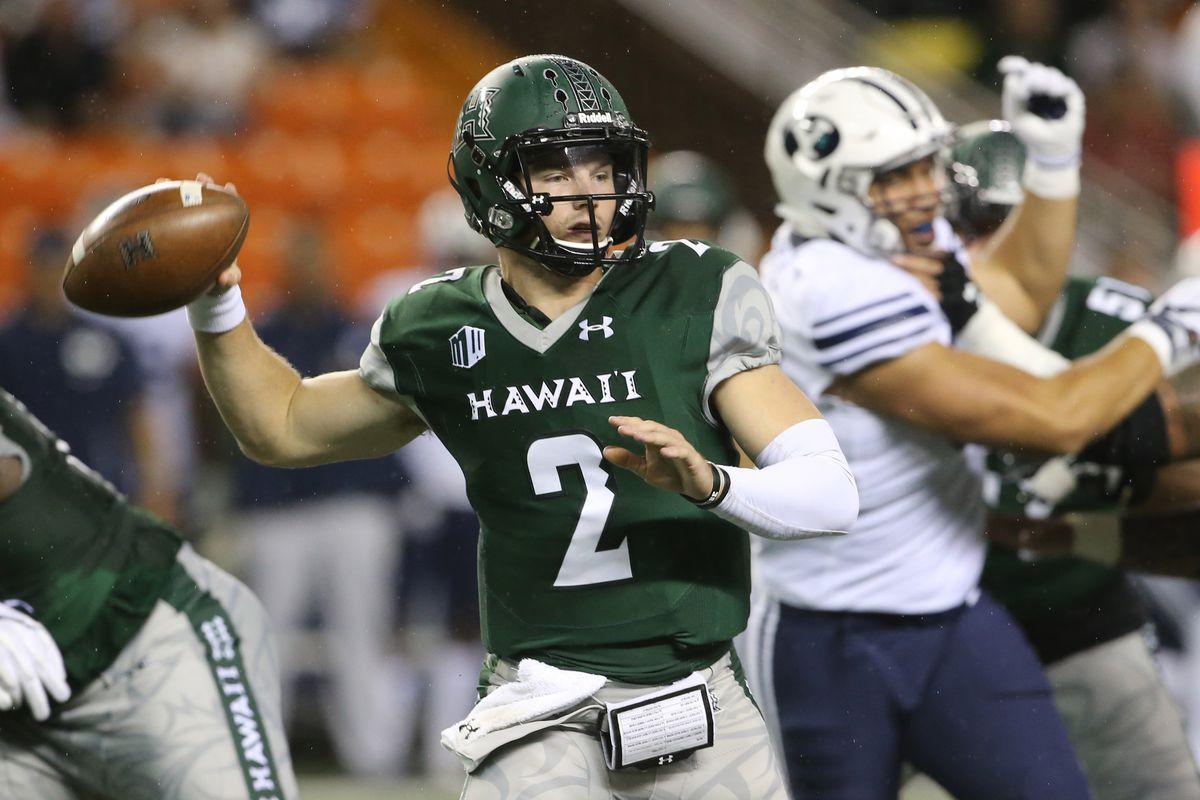 NCAA Football: Brigham Young at Hawaii