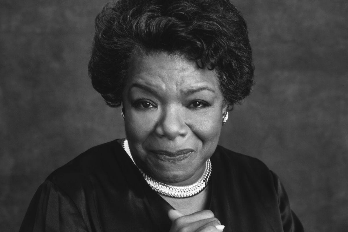 Maya Angelou Portrait Session 1996