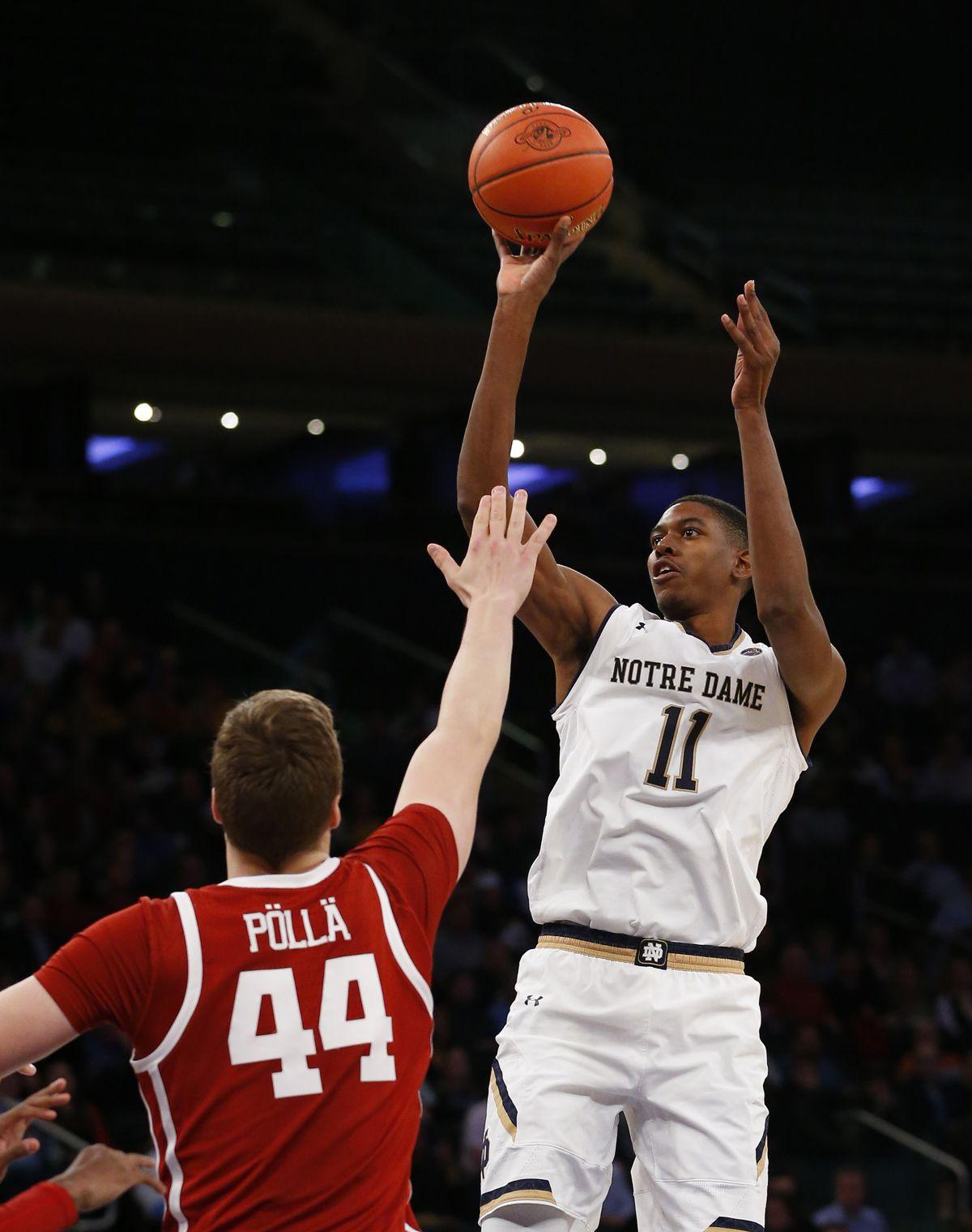 NCAA Basketball: Jimmy V Classic-Oklahoma vs Notre Dame