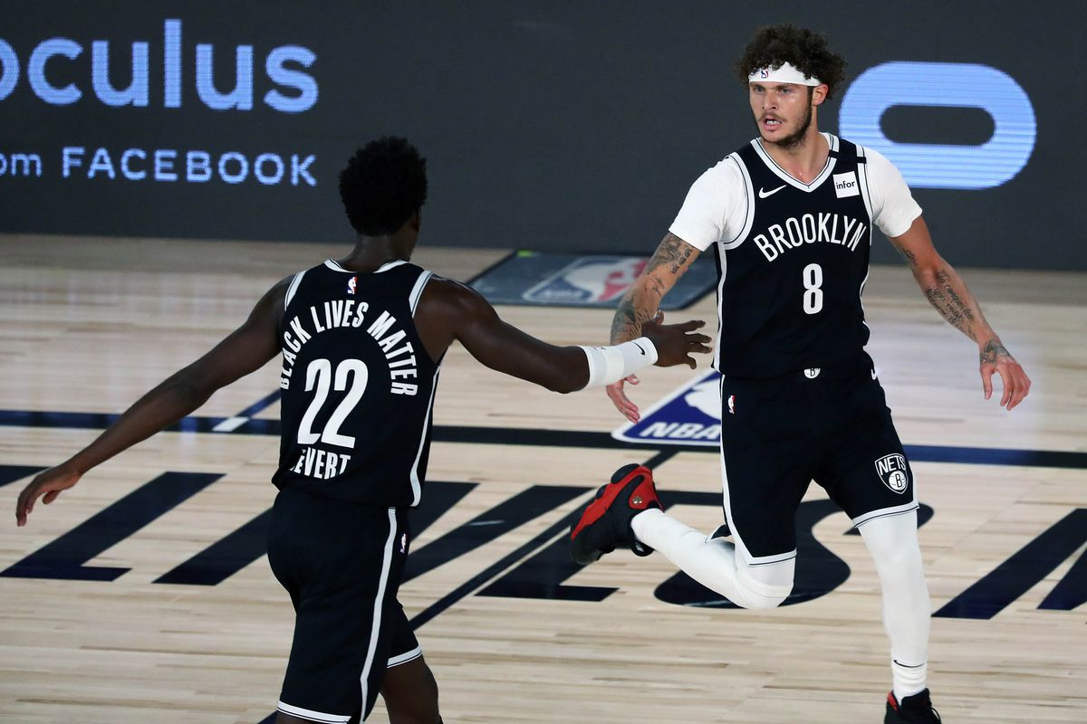 Brooklyn Nets Depth Chart Roster Battles Training Camp Updates Team Preview Odds For 2020 21 Draftkings Nation