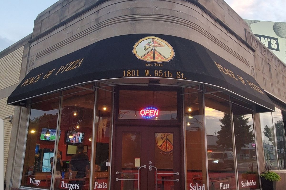 Peace of Pizza, 1801 W. 95th St.