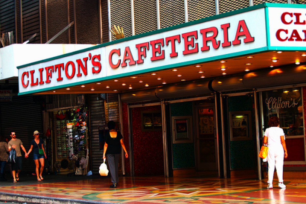 Clifton's Cafeteria, Downtown.