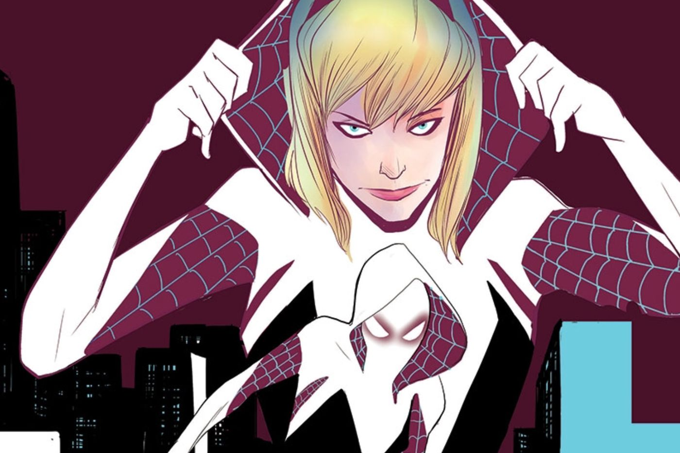Where does Gwen Stacy's Spider-Woman costume come from