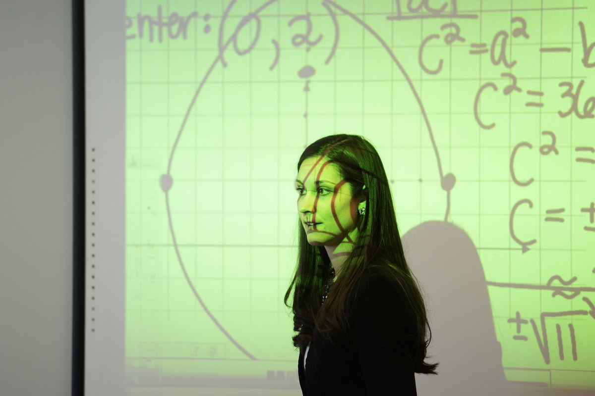 A precalculus teacher in Louisville, Colorado.