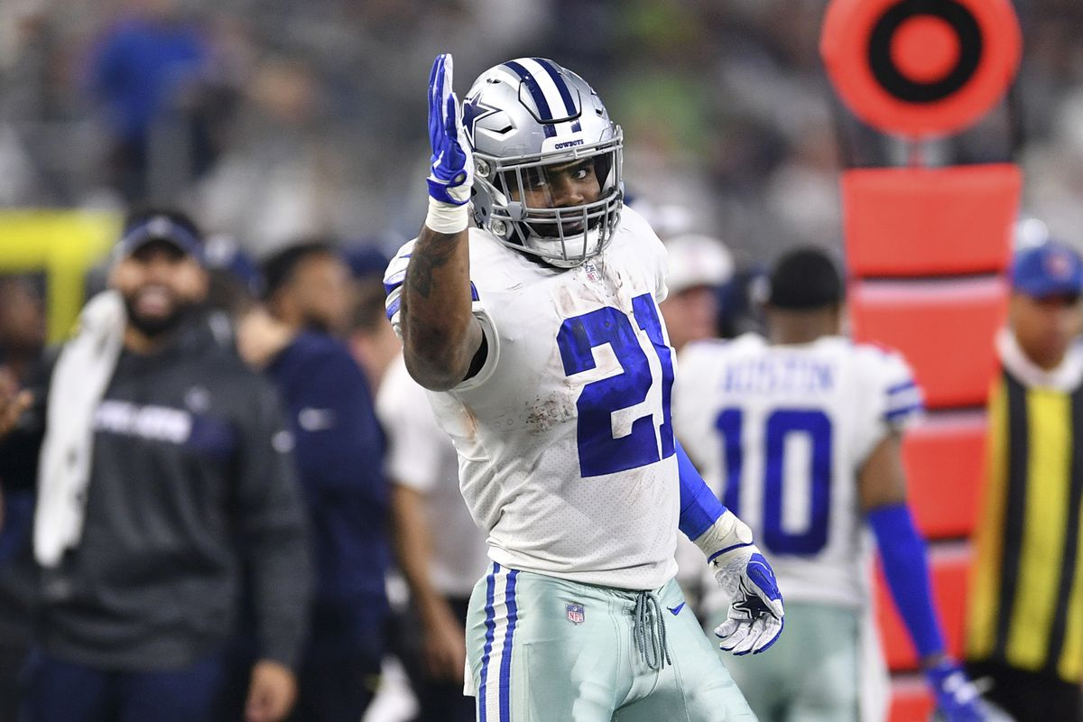 8ebebc593d7 Looks like things are on track for Cowboys to make Ezekiel Elliott  highest-paid RB in NFL history