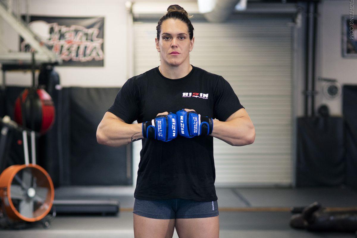 Gabi Garcia admits she wasn't happy with fight against 52-year-old Shinobu Kandori at RIZIN - MMA Fighting