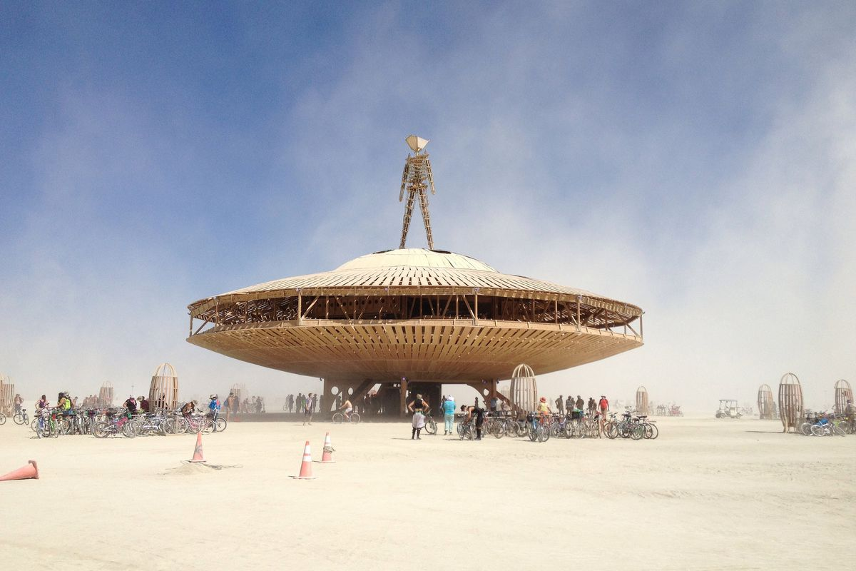 Burning man 2017 best pop up art and architecture curbed for Architecture 2017