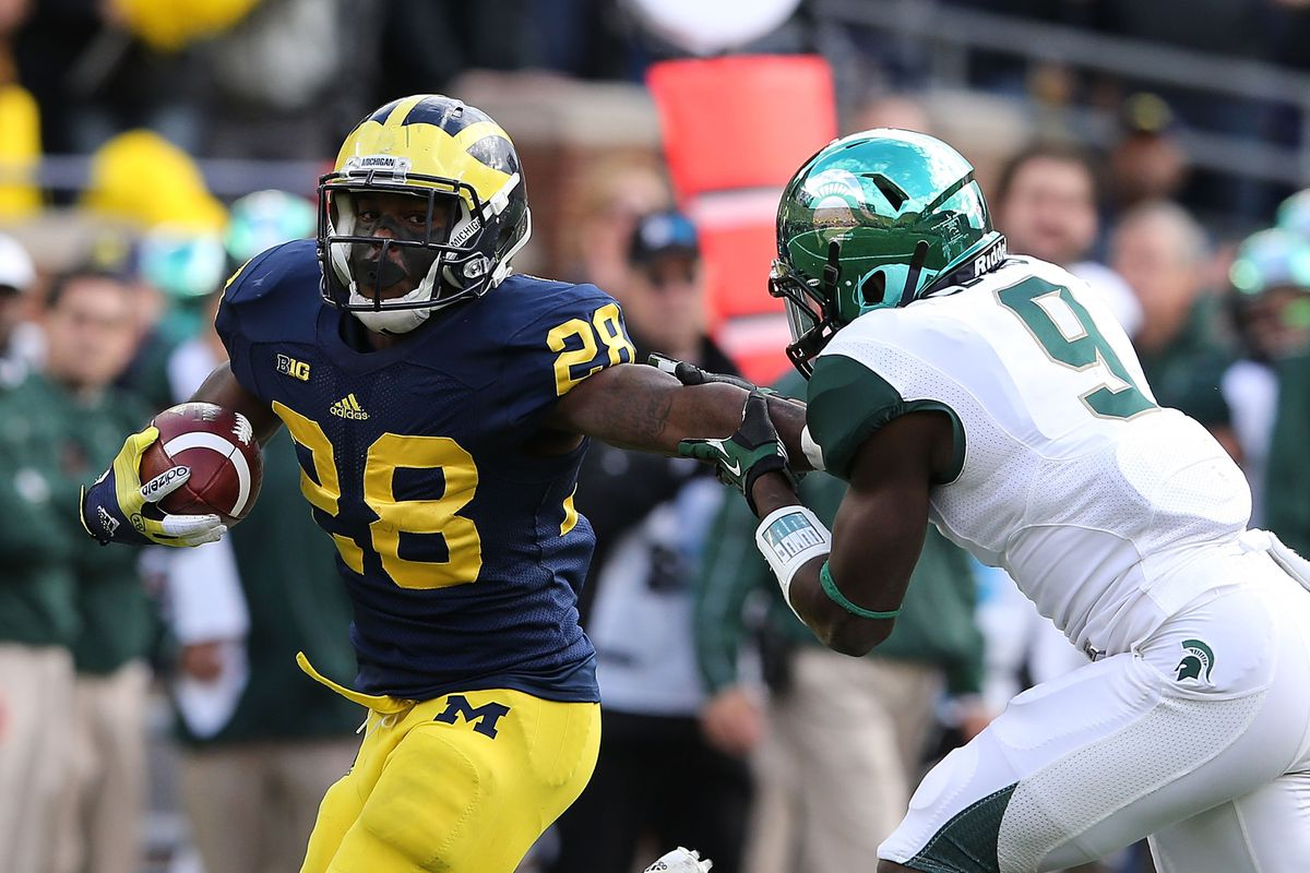 Damien Harris 2015 Rb Commits To Michigan Maize N Brew
