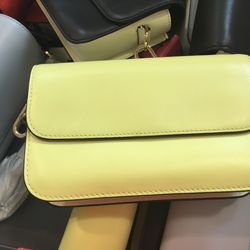 Small leather bag, $45